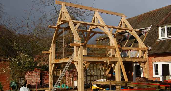 Oak Timber Frame Buildings Hampshire